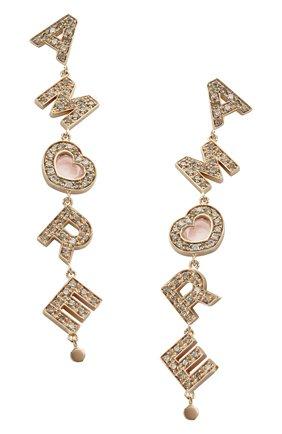 Женские серьги PASQUALE BRUNI розового золота цвета, арт. 15804R | Фото 1
