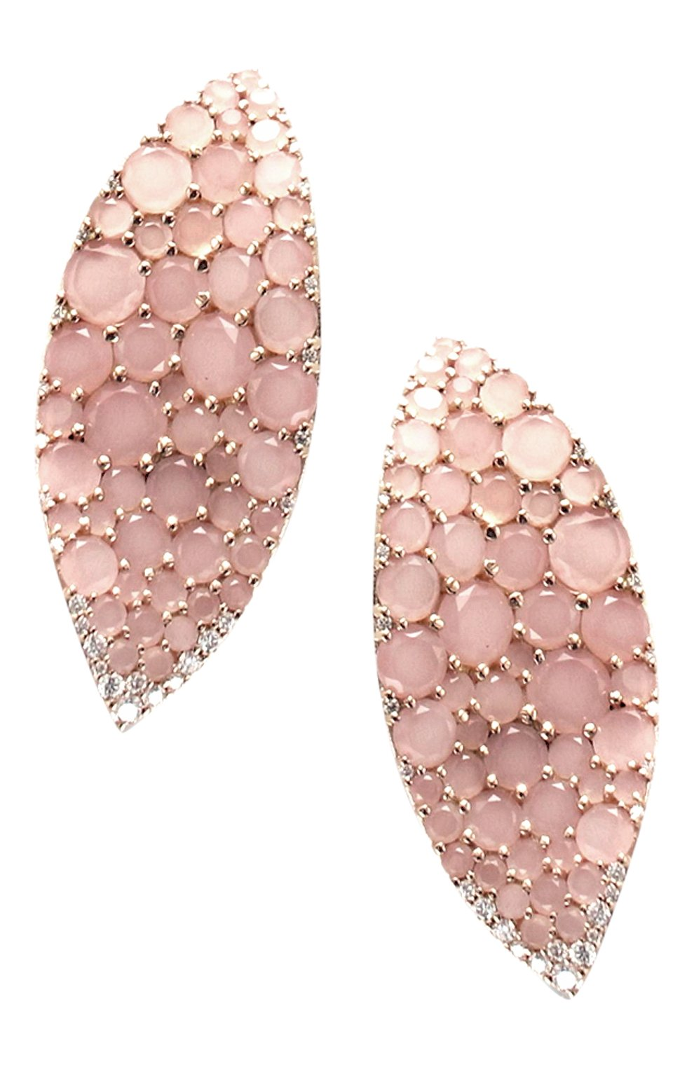 Женские серьги PASQUALE BRUNI розового золота цвета, арт. 15844R   Фото 1
