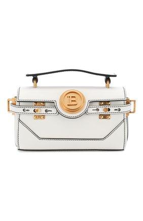 Женская сумка bbuzz 19 baguette BALMAIN белого цвета, арт. TN0S479/LMJC | Фото 1