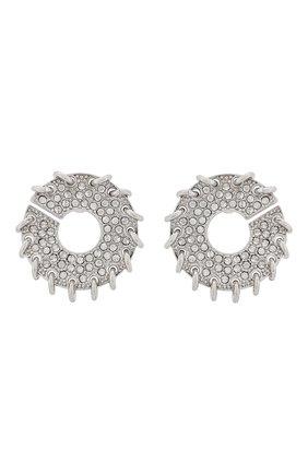 Женские серьги CHLOÉ серебряного цвета, арт. CHC20UFE71CH6 | Фото 1