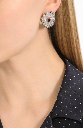 Женские серьги CHLOÉ серебряного цвета, арт. CHC20UFE71CH6 | Фото 2