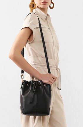 Женская сумка TOD'S черного цвета, арт. XBWDBAK0100XPA | Фото 2