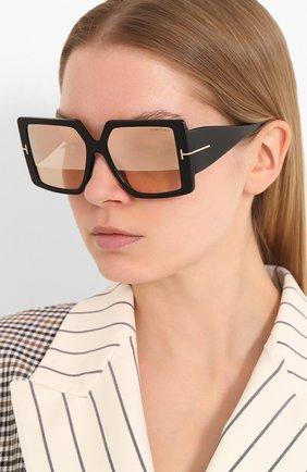 Мужские солнцезащитные очки TOM FORD розового цвета, арт. TF790 | Фото 2
