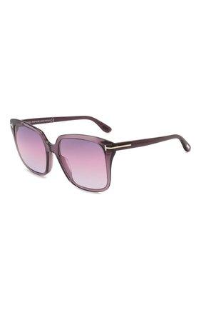 Женские солнцезащитные очки TOM FORD фиолетового цвета, арт. TF788 | Фото 1