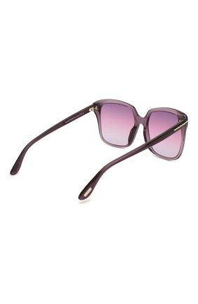 Женские солнцезащитные очки TOM FORD фиолетового цвета, арт. TF788 | Фото 4