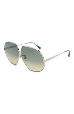Мужские солнцезащитные очки TOM FORD зеленого цвета, арт. TF785 | Фото 1