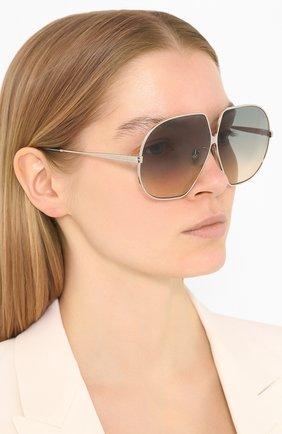 Мужские солнцезащитные очки TOM FORD зеленого цвета, арт. TF785 | Фото 2