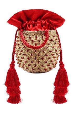 Женская сумка carol small LE NINE красного цвета, арт. S2-90070-00000-360 TAS | Фото 1