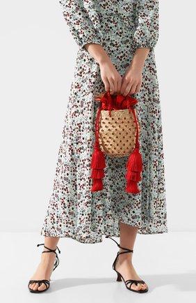 Женская сумка carol small LE NINE красного цвета, арт. S2-90070-00000-360 TAS | Фото 2
