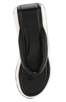 Женские кожаные шлепанцы kyoto GIVENCHY черного цвета, арт. BE3040E0N0 | Фото 5