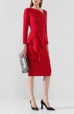 Женская кожаные туфли super heel SERGIO ROSSI черного цвета, арт. A89920-MAGN05 | Фото 2