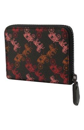 Женские кошелек COACH черного цвета, арт. 89375 | Фото 2