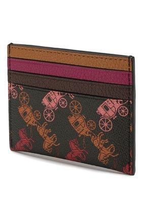 Женский футляр для кредитный карт COACH черного цвета, арт. 89577 | Фото 2