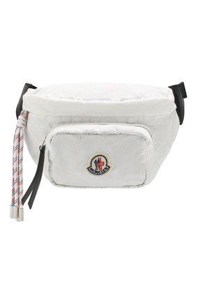 Женская поясная сумка MONCLER белого цвета, арт. F1-09B-5M700-10-02SA9 | Фото 1