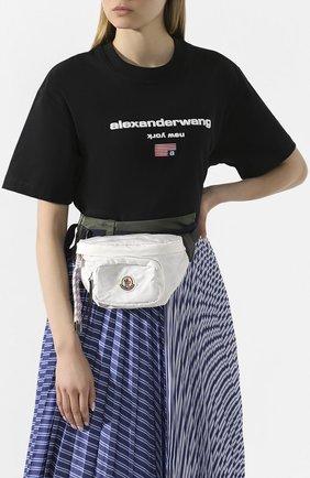 Женская поясная сумка MONCLER белого цвета, арт. F1-09B-5M700-10-02SA9 | Фото 2
