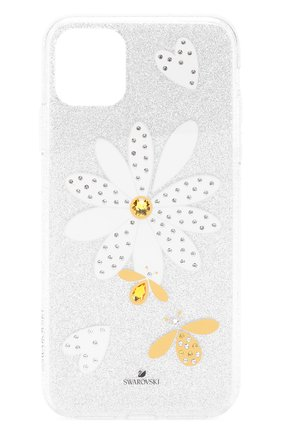 Мужской чехол eternal flower для iphone 11 pro max SWAROVSKI серебряного цвета, арт. 5533980 | Фото 1