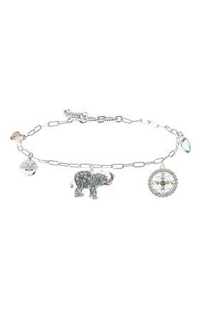 Женский браслет symbolic elephant SWAROVSKI серебряного цвета, арт. 5521444 | Фото 1