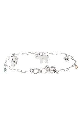 Женский браслет symbolic elephant SWAROVSKI серебряного цвета, арт. 5521444 | Фото 2