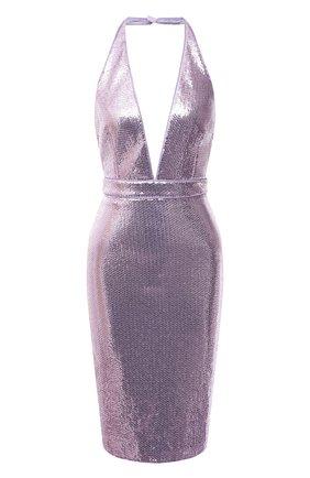 Женское платье с пайетками TOM FORD сиреневого цвета, арт. ABJ409-SDE238 | Фото 1