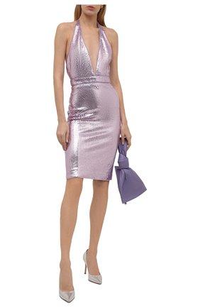 Женское платье с пайетками TOM FORD сиреневого цвета, арт. ABJ409-SDE238 | Фото 2