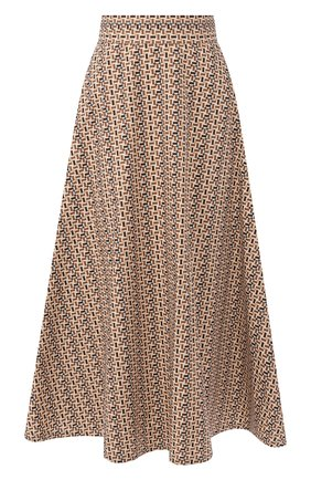Женская юбка LORO PIANA коричневого цвета, арт. FAL1355 | Фото 1
