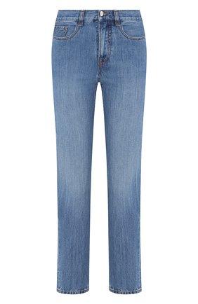 Женские джинсы MONCLER синего цвета, арт. F1-093-2A713-00-V0106 | Фото 1