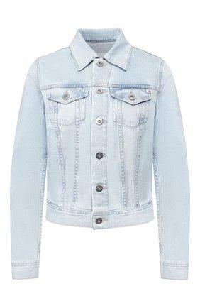 Женская джинсовая куртка AG голубого цвета, арт. LED4087/TRMP | Фото 1
