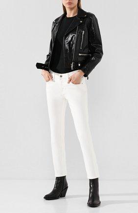 Женские джинсы AG белого цвета, арт. DSD1575/01YTWT | Фото 2