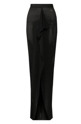 Женская юбка rick owens x champion RICK OWENS черного цвета, арт. CW20S0031/113649   Фото 1