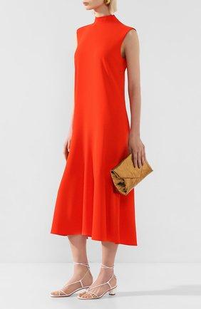 Женское платье VICTORIA, VICTORIA BECKHAM красного цвета, арт. 2120WDR000840A | Фото 2