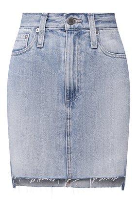 Женская джинсовая юбка AG голубого цвета, арт. HRD5548T0/89ATTN | Фото 1