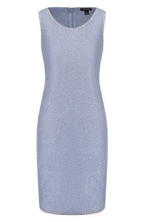 Женское платье ST. JOHN голубого цвета, арт. K12Z021 | Фото 1