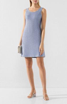 Женское платье ST. JOHN голубого цвета, арт. K12Z021 | Фото 2