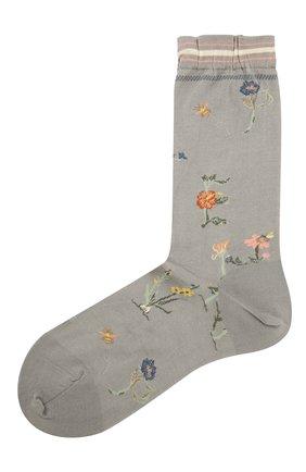 Женские хлопковые носки ANTIPAST серого цвета, арт. AM-730 | Фото 1