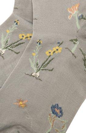 Женские хлопковые носки ANTIPAST серого цвета, арт. AM-730 | Фото 2