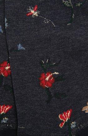 Женские хлопковые носки ANTIPAST синего цвета, арт. AM-730 | Фото 2