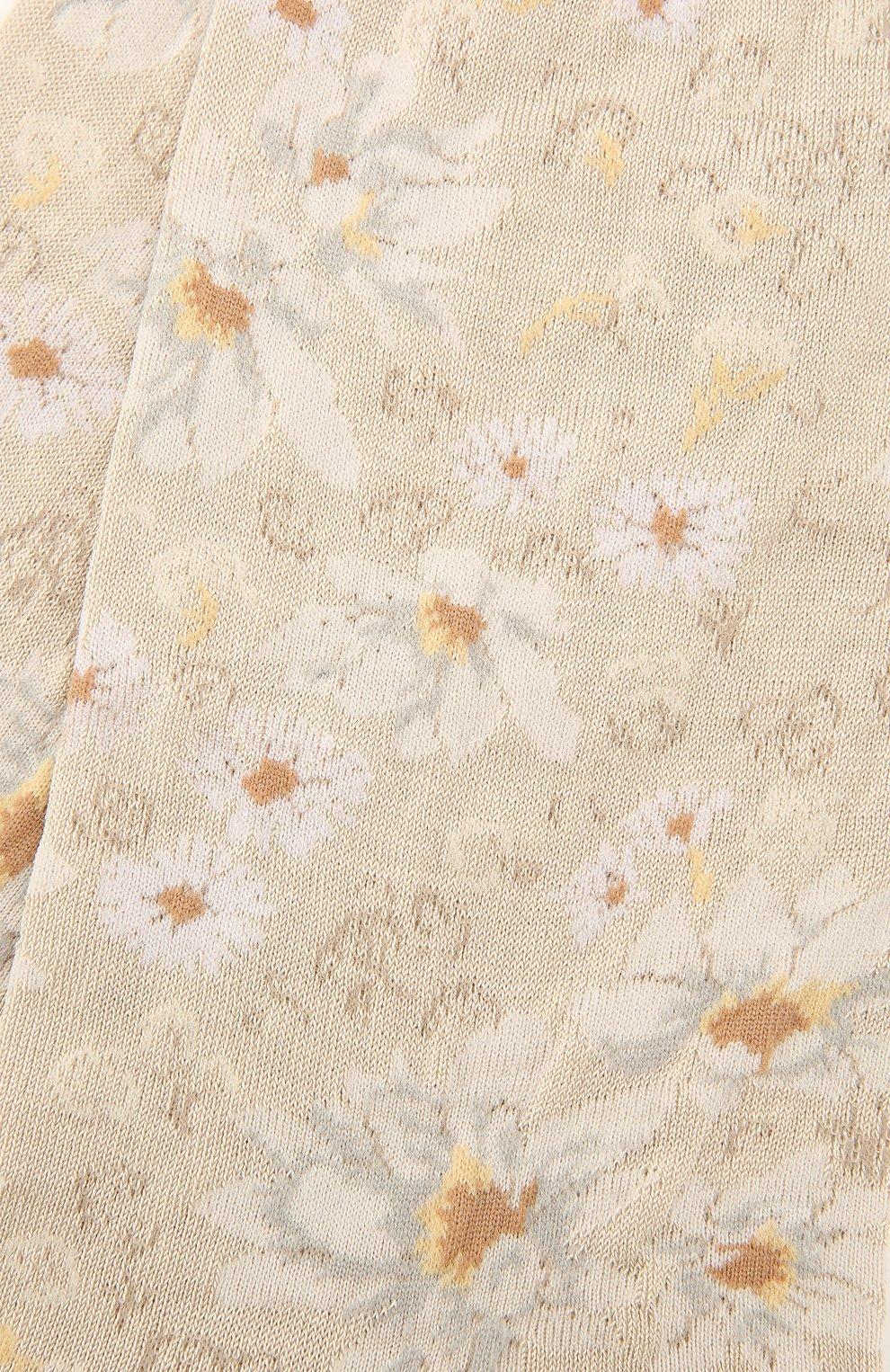 Женские хлопковые носки ANTIPAST кремвого цвета, арт. AM-732   Фото 2