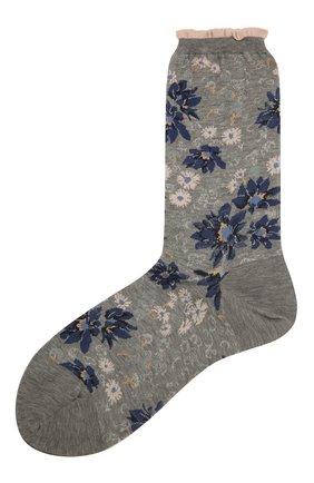 Женские хлопковые носки ANTIPAST серого цвета, арт. AM-732 | Фото 1