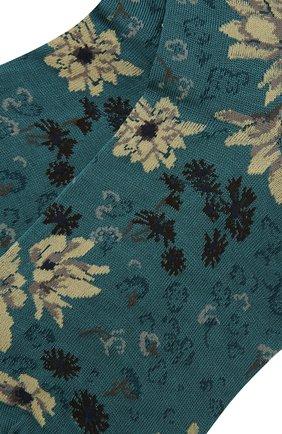Женские хлопковые носки ANTIPAST синего цвета, арт. AM-732 | Фото 2