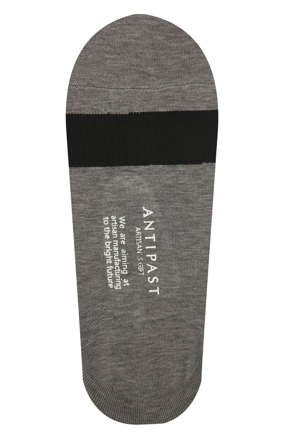 Женские хлопковые подследники ANTIPAST серого цвета, арт. ANP-53AS | Фото 2