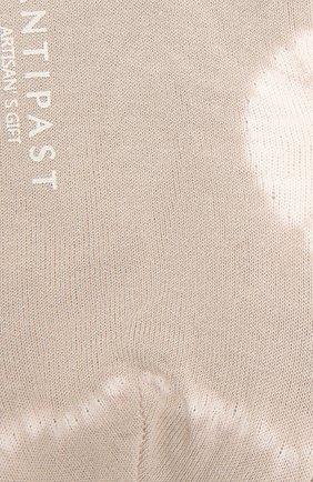 Женские носки ANTIPAST бежевого цвета, арт. AS-195S   Фото 2
