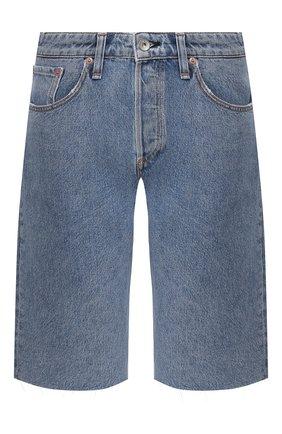 Женские джинсовые шорты RAG&BONE синего цвета, арт. WDD20S1905B1MI | Фото 1