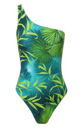 Женский слитный купальник VERSACE зеленого цвета, арт. ABD87001/A234851 | Фото 1