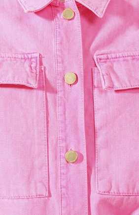 Женский джинсовый комбинезон ESSENTIEL ANTWERP розового цвета, арт. VADID | Фото 5