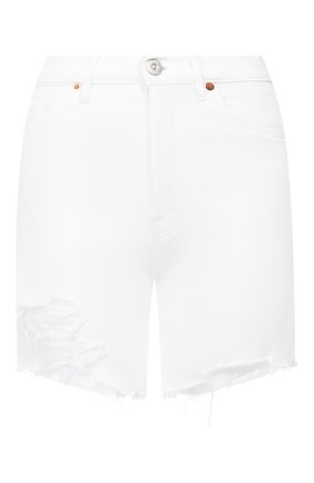 Женские джинсовые шорты 3X1 белого цвета, арт. WS0070952/B PEARL | Фото 1