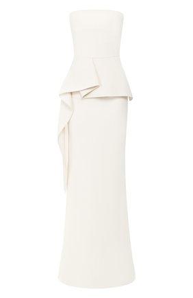 Женское платье-макси ROLAND MOURET белого цвета, арт. EW20/S0977/F4044 | Фото 1