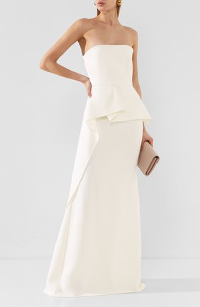 Женское платье-макси ROLAND MOURET белого цвета, арт. EW20/S0977/F4044 | Фото 2