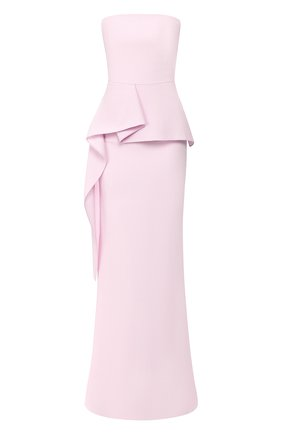 Женское платье-макси ROLAND MOURET розового цвета, арт. EW20/S0977/F4044 | Фото 1