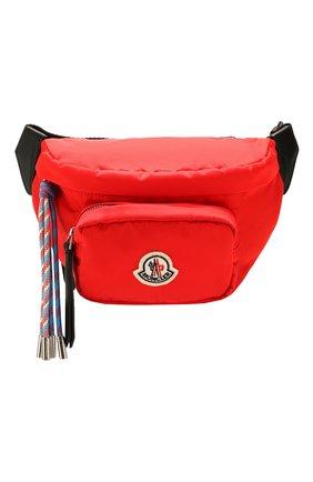Женская поясная сумка felicie MONCLER красного цвета, арт. F1-09B-5M700-00-02SA9 | Фото 1