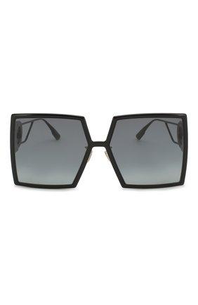 Женские солнцезащитный очки DIOR черного цвета, арт. 30M0NTAIGNE 807 1I | Фото 3